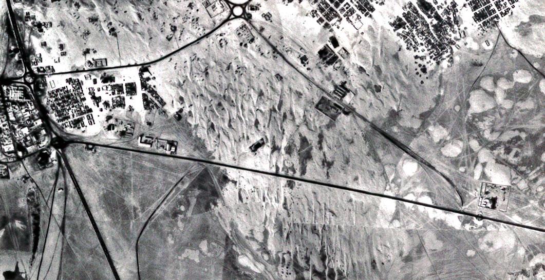 Dubai-Sharjah Road 1968
